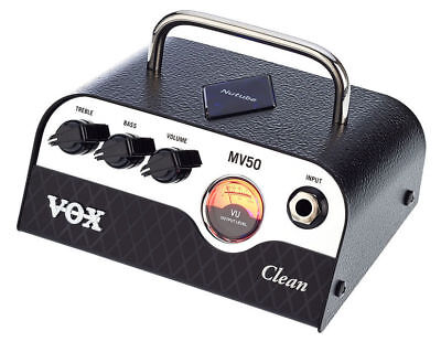 NEW VOX / KORG MV50 Clean Compact Guitar Amplifiers • 142.50£