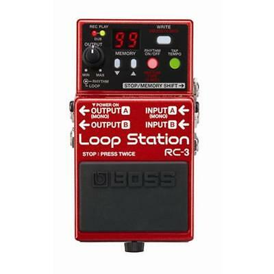 BOSS RC-3 LOOP STATION BRAND NEW Guitar Effect Pedal • 150.50£