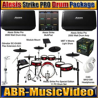 Alesis Strike Pro Special Edition 11 PC Drum Package/ AMP 12 Amp/ MultiPad • 3,263.84£