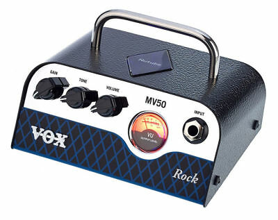 NEW VOX MV50 Rock 50-watt GUITAR AMPLIFIER • 165.81£