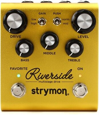 STRYMON RIVERSIDE Multistage Drive NEW Guitar Effect Pedal • 233.92£