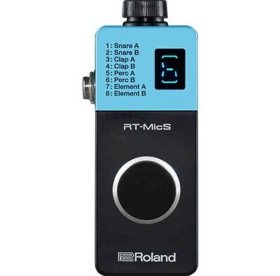 Roland RT-MicS Hybrid Drum Module Featuring Drum Trigger Free Shipping • 213.36£