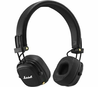 MARSHALL Major III Wireless Bluetooth Headphones - Black - Currys • 129£