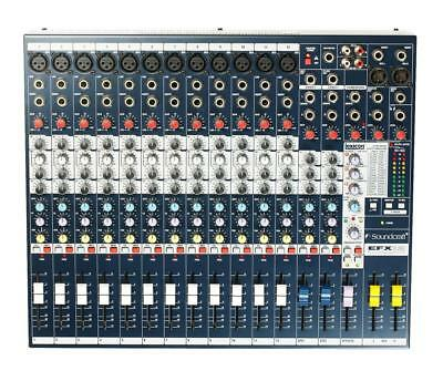 Soundcraft EFX12 Multi-Purpose Mixer With Lexicon Effects • 307.75£