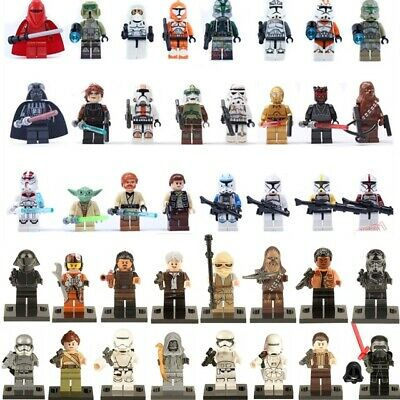 Starwars Mini Figures NEW UK Seller Fits Major Brand Blocks Bricks Star Wars • 3£