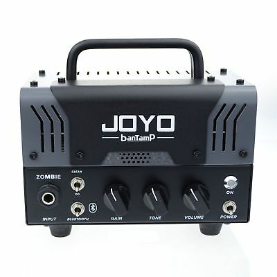 JOYO BanTamP Zombie Tube Amp 20 Watt Dual Channel Bluetooth Just Released! • 129.13£