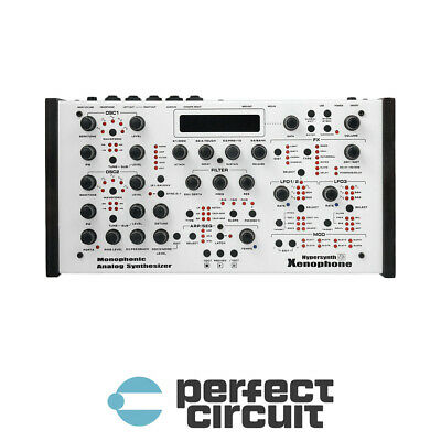 Hypersynth Xenophone Analog Mono Synth SYNTHESIZER - NEW - PERFECT CIRCUIT • 750.21£