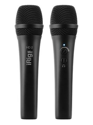 IK Multimedia: IRig Mic HD 2 Learn To Play Microphone Voice MUSIC ACCESSORY • 156£