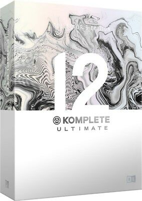 Native Instruments Komplete 12 Ultimate Collectors Edition Upgrade, Komplete 8+ • 849£