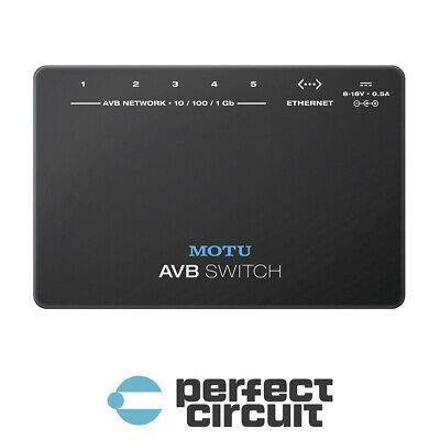 MOTU AVB Switch For 1248 8M 16A Interface CONVERTER - NEW - PERFECT CIRCUIT  • 303.94£