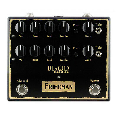 Friedman BE-OD Deluxe Overdrive Distortion Pedal • 218.47£