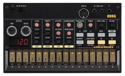 KORG Volca Beats Analoge Rhythm Machine F/S From Japan With Tracking • 177.57£
