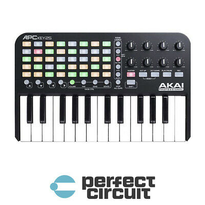 Akai APC Key 25 USB Keyboard CONTROLLER - NEW - PERFECT CIRCUIT • 77.97£