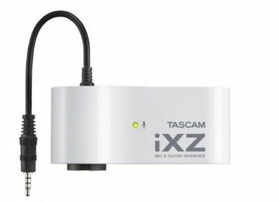 NEW TASCAM IXZ MIC Instrument GUITAR INTERFACE For IPad/iPhone/iPod Touch JAPAN • 38.57£