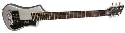 Hofner HCT-SH Shorty Electric Travel, Silver