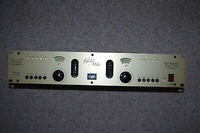 SPL Goldmike Model 9844 Dual Tube Mic Preamp Class-A Röhre • 423.88£