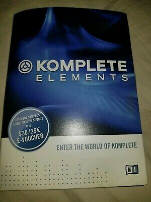 Native Instruments Komplete Elements MK2 Soft Synth Bundle/Sound Library.  • 43.42£