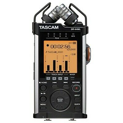NEW Tascam Dr-44Wl Ver2-J Linear Pcm Recorder Wi-Fi Remote Control From JAPAN • 173.09£