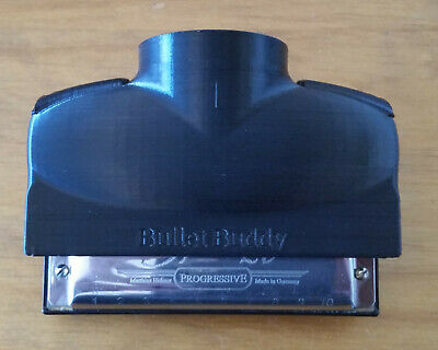 Bullet Buddy - Hands Free Amplified Harmonica / Harmonica Mute • 55£
