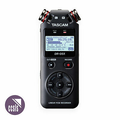 Tascam DR-05X 2-Channel Linear PCM Recorder • 103.59£