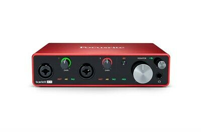 Focusrite Scarlett 4i4 USB Audio Interface, 3rd Gen • 184.62£