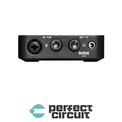 Rode AI-1 Single Channel USB Audio Interface PRO AUDIO - NEW - PERFECT CIRCUIT • 100.46£