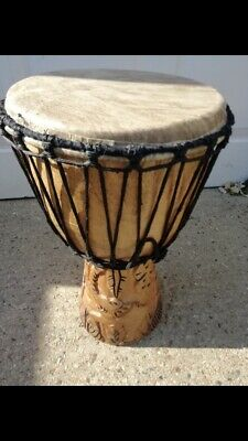 Traditional African Djembe Drum • 65£