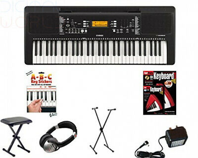 Yamaha PSR E363 Digital Keyboard Deluxe Package E 363 PSRE363   • 273.56£