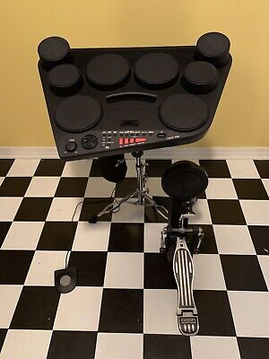 Yamaha DD-75 8-Pad Portable Digital Drum Set Bundle Stand Upgraded Bass Drum • 229.57£