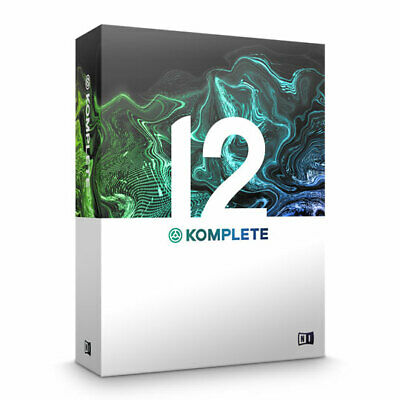 Native Instruments Komplete 12 Music Production Software Collection (Upgrade Fro • 329.04£