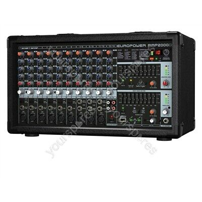 Behringer PMP2000D 2000-Watt 14-Channel Powered Mixer • 398.87£