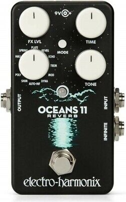 NEW Electro-Harmonix OCEANS 11 Guitar Effects Pedals Reverb From JAPAN • 147.14£