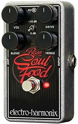 NEW Electro-Harmonix Bass Soul Food Overdrive Effects Pedal From JAPAN • 102.35£