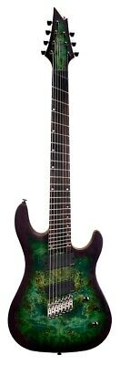 Cort Flagship KX500MS 7 String Electric Guitar EMG 707 Pickups Stardust Green • 577.72£