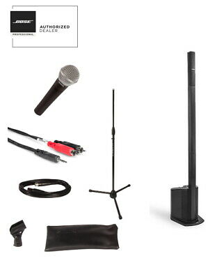 Bose L1 Compact System W/ Shure SM58 Mic, Cable And Stand Bundle 2019 • 760£