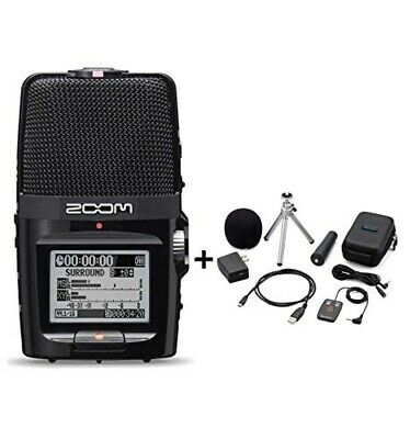 ZOOM H2next Handy Portable Recorder / Accessoary Kit APH-2n From JAPAN F/S • 178.07£