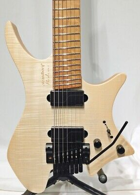 *NEW* .strandberg* Boden Original Natural 7 Trem HH 7 Strings W/OGB Free Ship • 2,588.64£