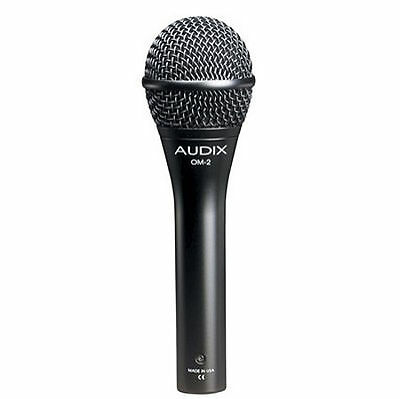 Audix OM2 Handheld Hypercardioid Dynamic Vocal And Instrument Microphone • 76.90£