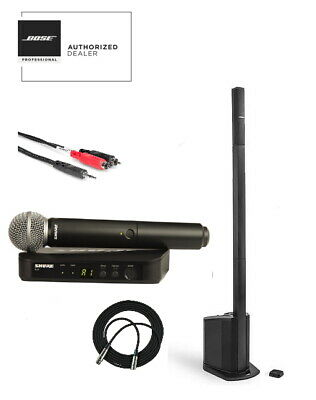 Bose L1 Compact Wireless Package, Shure BLX24/SM58 & Tablet/ Phone Cable Bundle • 915.53£