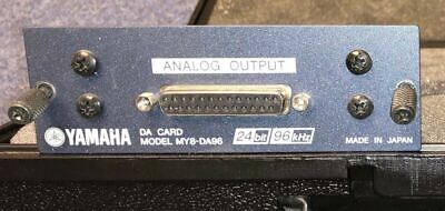 Yamaha MY8-DA96 - 8 Way Analogue Output Card • 355£
