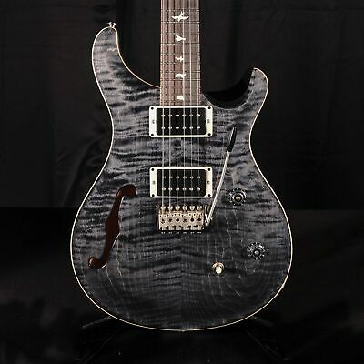 PRS CE 24 Semi-Hollow Gray Black Electric Guitar With Gig Bag • 1,682.74£