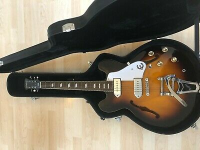Epiphone Casino VT VS With Bigsby • 599£