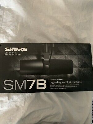 Shure SM7B Classic Cardioid Dynamic Professional Microphone (In Box) • 225.88£