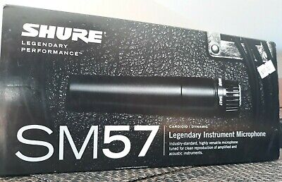 Shure SM57 Cardioid Dynamic Instrument Microphone • 64.69£