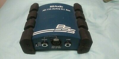 Bss Audio Ar-133 Active Direct Box Di Used • 76.14£