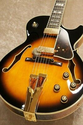 *NEW* Ibanez GB10 BS MIJ Electric Guiter Hollow HH George Benson W/HSC Free Ship • 2,700.41£