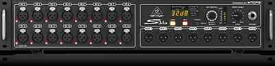 Behringer S16  I/O Box, 16 Midas Preamps, 8 Outputs & AES50 Networking • 539.39£