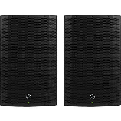 2x Mackie Thump 15A V4 2600W Powered Speaker Or Monitor + 2Ch Mixer 2yr Warranty • 700£