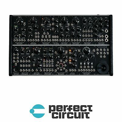 Erica Black System II Modular Synthesizer EURORACK - NEW - PERFECT CIRCUIT • 2,471.21£