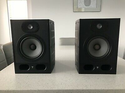 Focal Alpha 65 Active Monitors With XLR Cables (Pair, Excellent Condition) • 380£